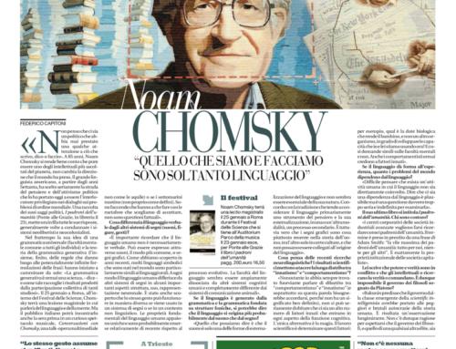 """Su """"Repubblica"""", gennaio 2014"""